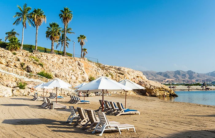 Hotel Crowne Plaza Muscat strand - Muscat