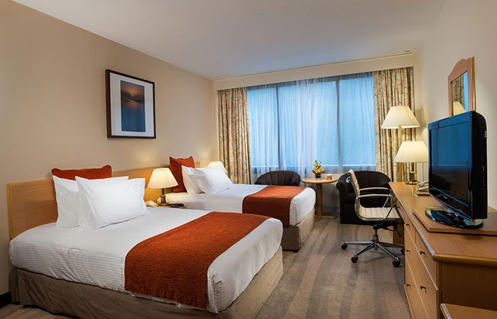 Hotel Crowne Plaza Muscat kamer - Muscat