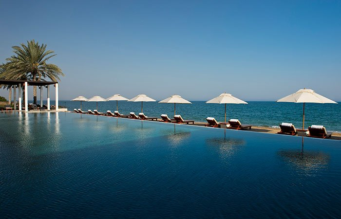 Hotel The Chedi zwembad - Muscat