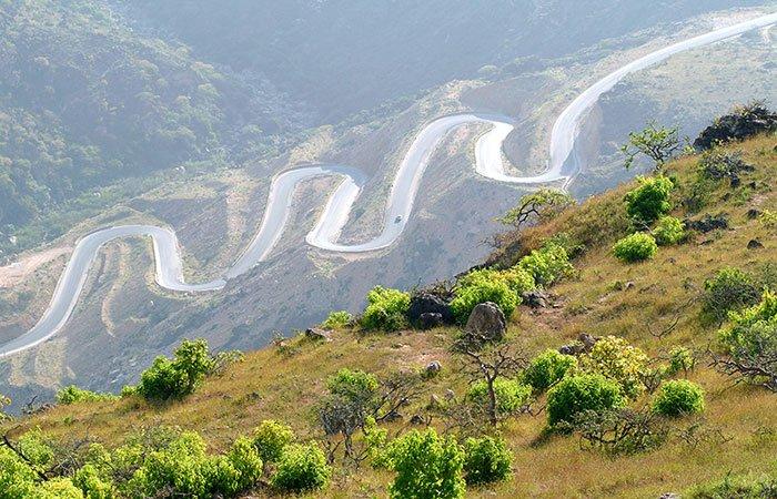 Bergweg Salalah