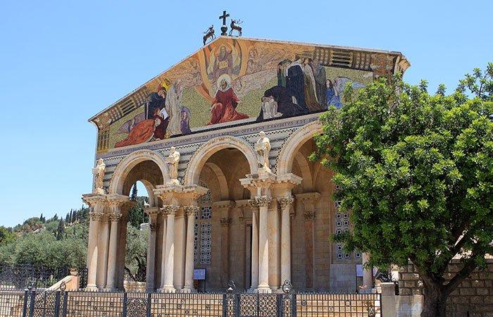 Kerk van alle Naties in Jeruzalem