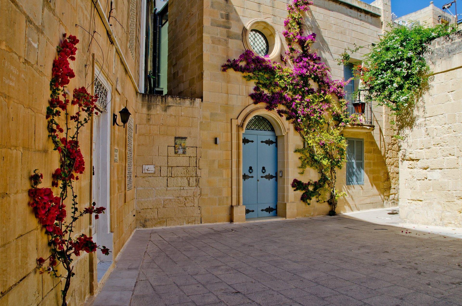 Straat in Mdina - Malta