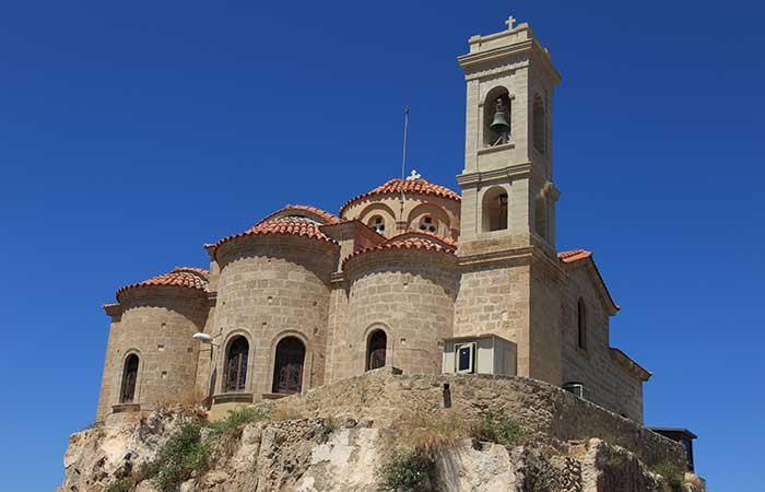 Kerk Panayaia Theoskepasti - Cyprus