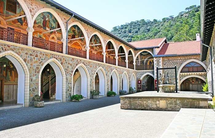 Kykkos klooster - Troodos Cyprus