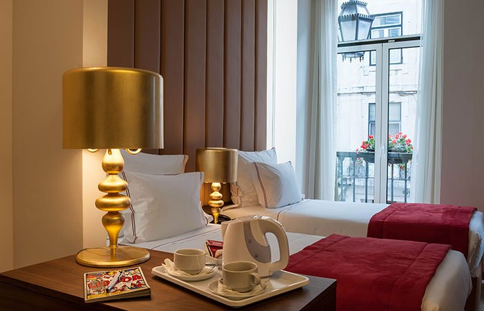 Hotel The 7 - Lissabon