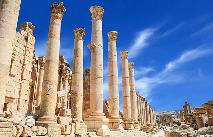 Jerash - Jordanië