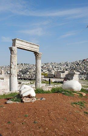 Citadel Amman - Jordanië