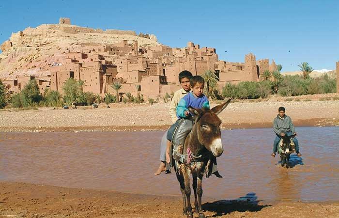 Kasbahs - Marokko
