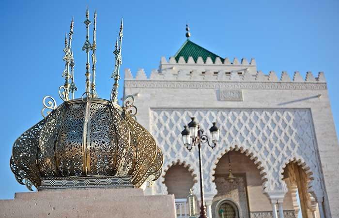 Mausoleum Mohammed V Rabat - Marokko