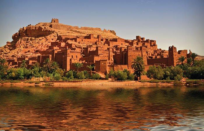 Kasbah Ait Benhaddou - Marokko