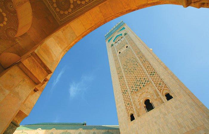 Hassan II moskee Casablanca - Marokko
