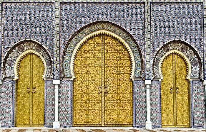 Koninklijk Paleis Fes - Marokko
