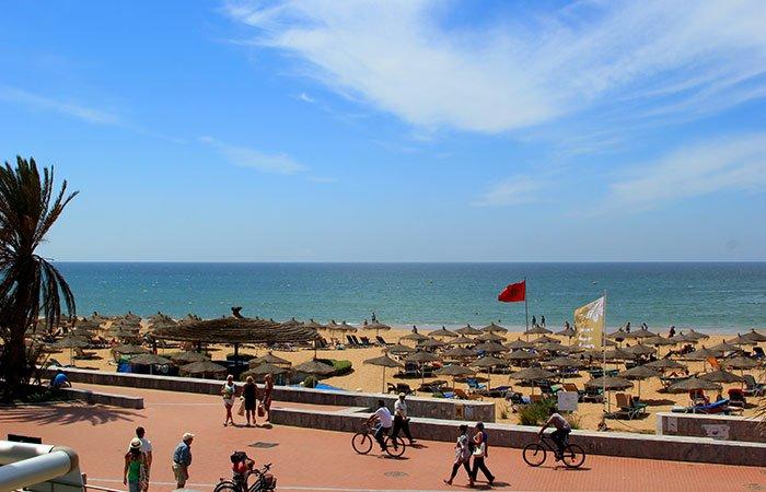 Strand Agadir - Marokko