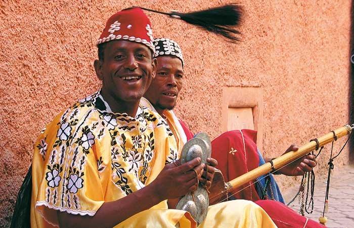 Muzikanten - Marokko