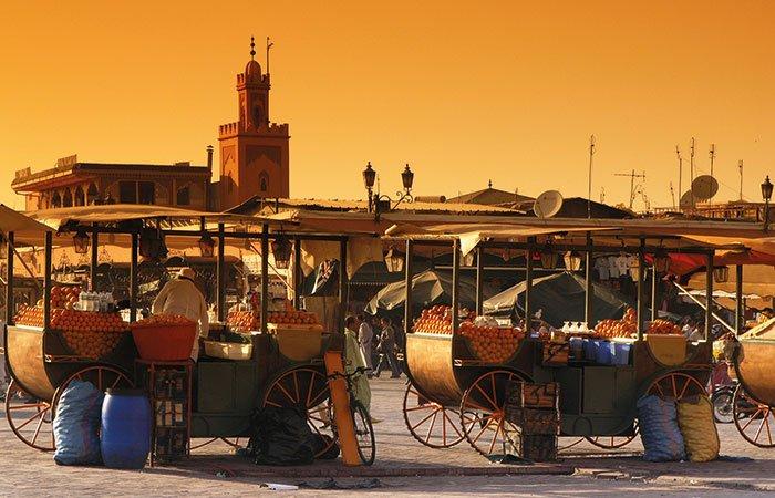 Kraampjes Marrakech - Marokko