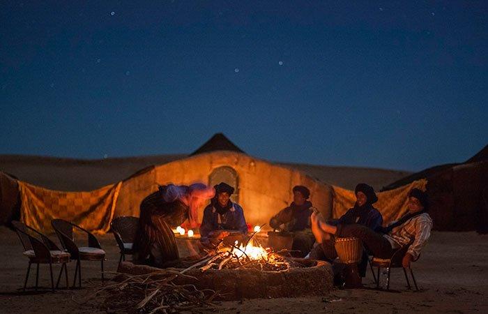 Bivouac Le Nomade Chegaga