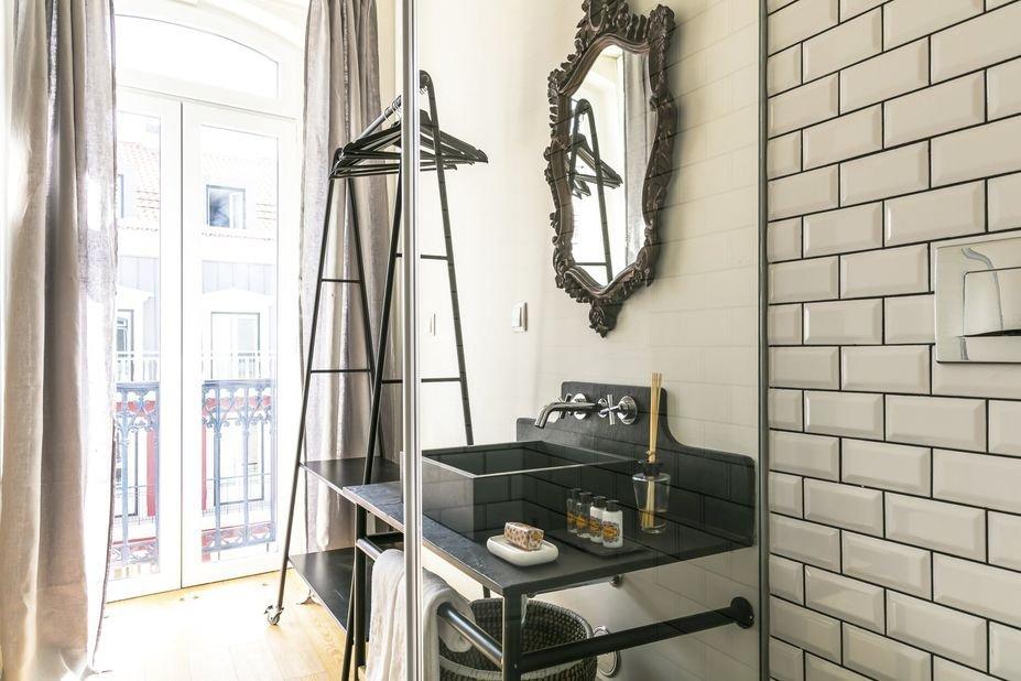 deluxe kamer - Appartementen Edificio ex Libris - Lissabon