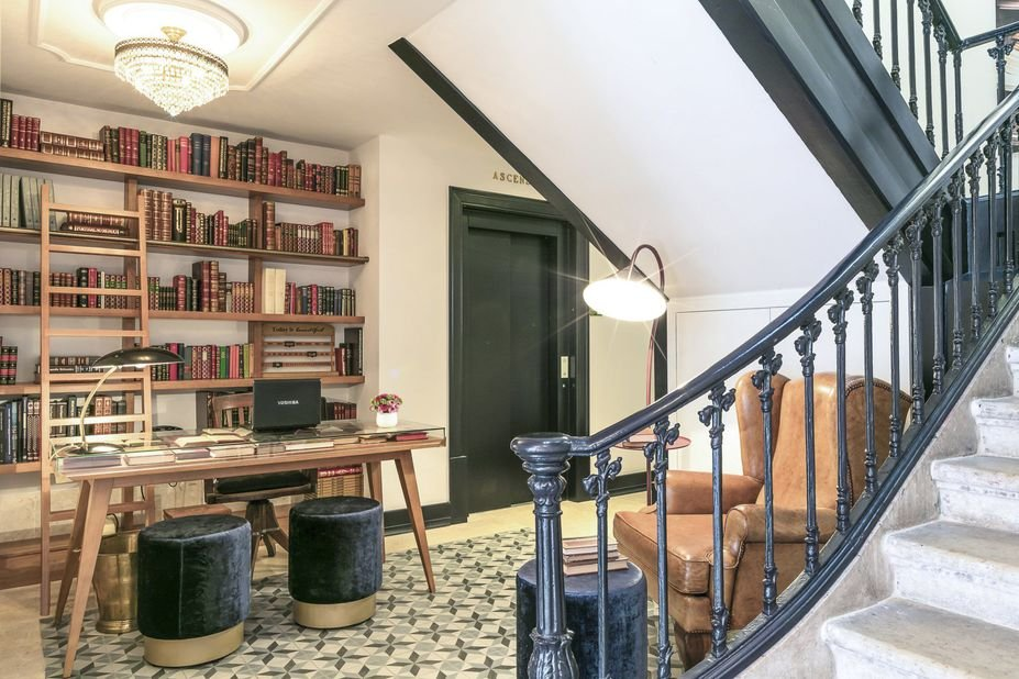 Appartementen Edificio ex Libris - Lissabon