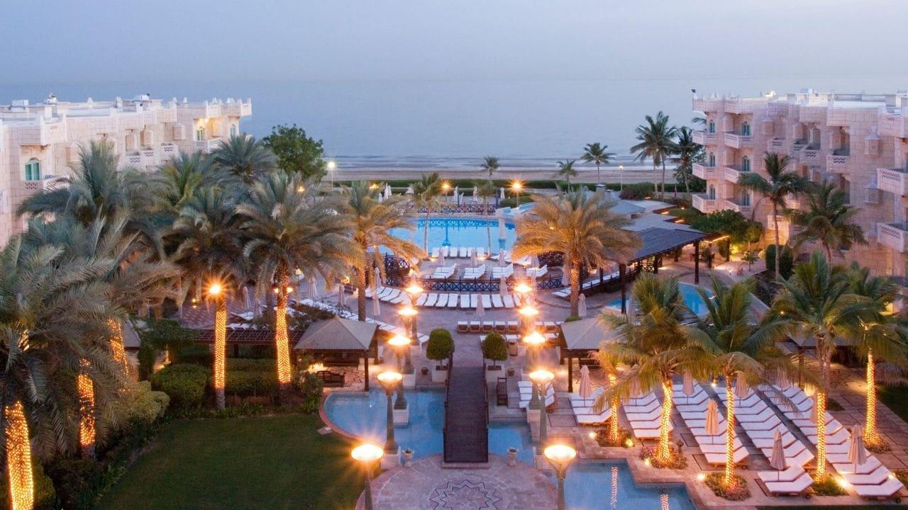 Hotel Grand Hyatt zwembad - Muscat