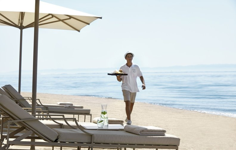Ikos Olivia - Beach service