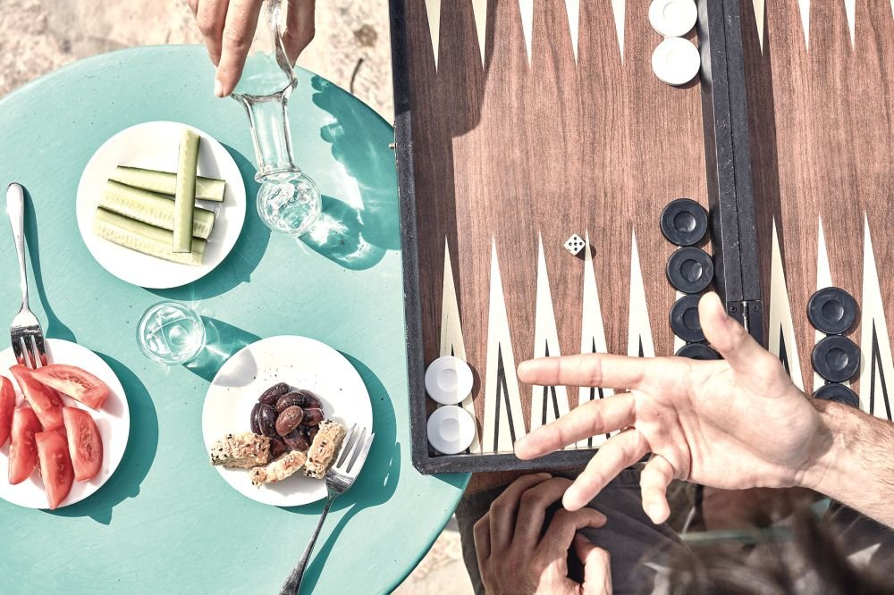 Minos Beach Art - Op z'n grieks