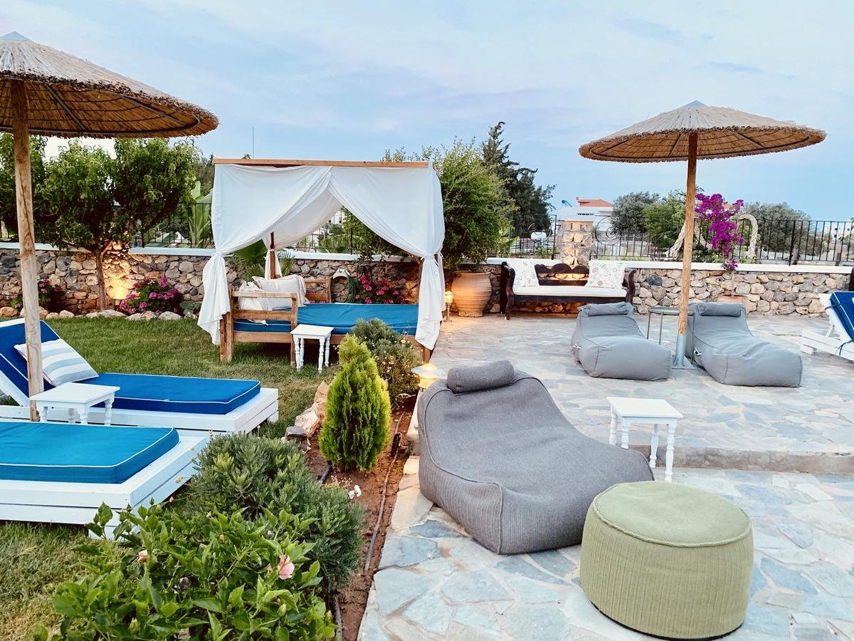 Hotel Caesars Garden - Lindos-terras