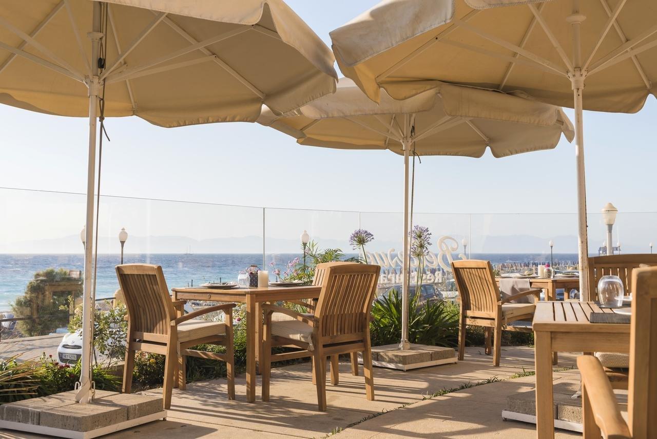 Appartementen Bellevue Suites - Rhodos-stad - restaurant