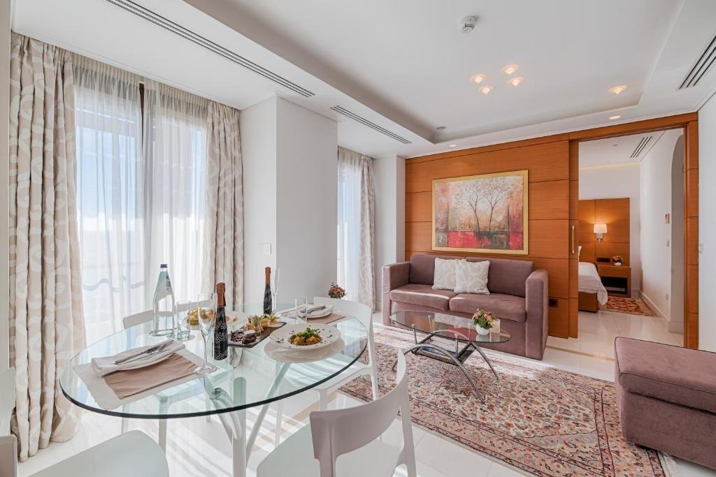 Appartementen Bellevue Suites - Rhodos-stad - suite met 1 slaapkamer