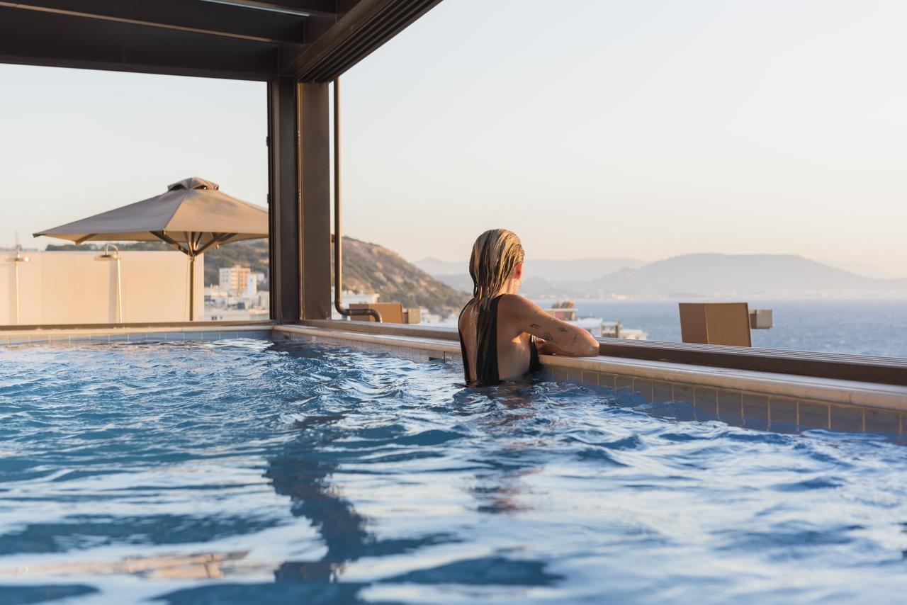 Appartementen Bellevue Suites - Rhodos-stad - zwembad