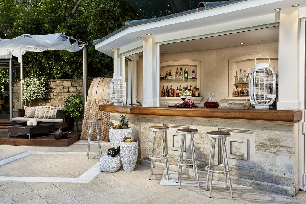 Hotel Rodos Park Suites & Spa - Rhodos-stad - bar