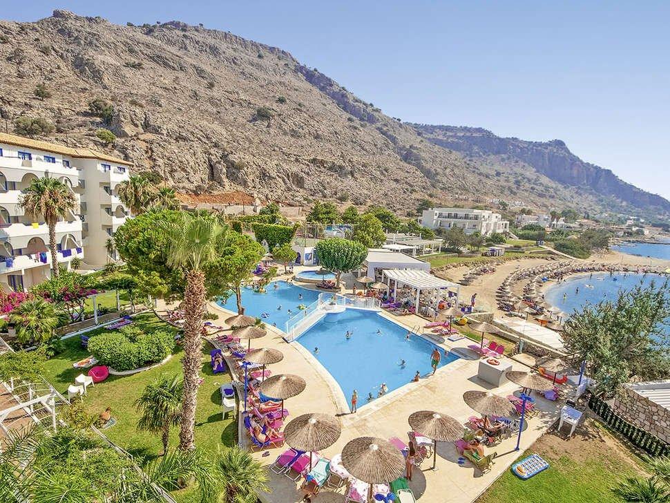 Hotel Sunrise - Pefkos - zwembad - strand