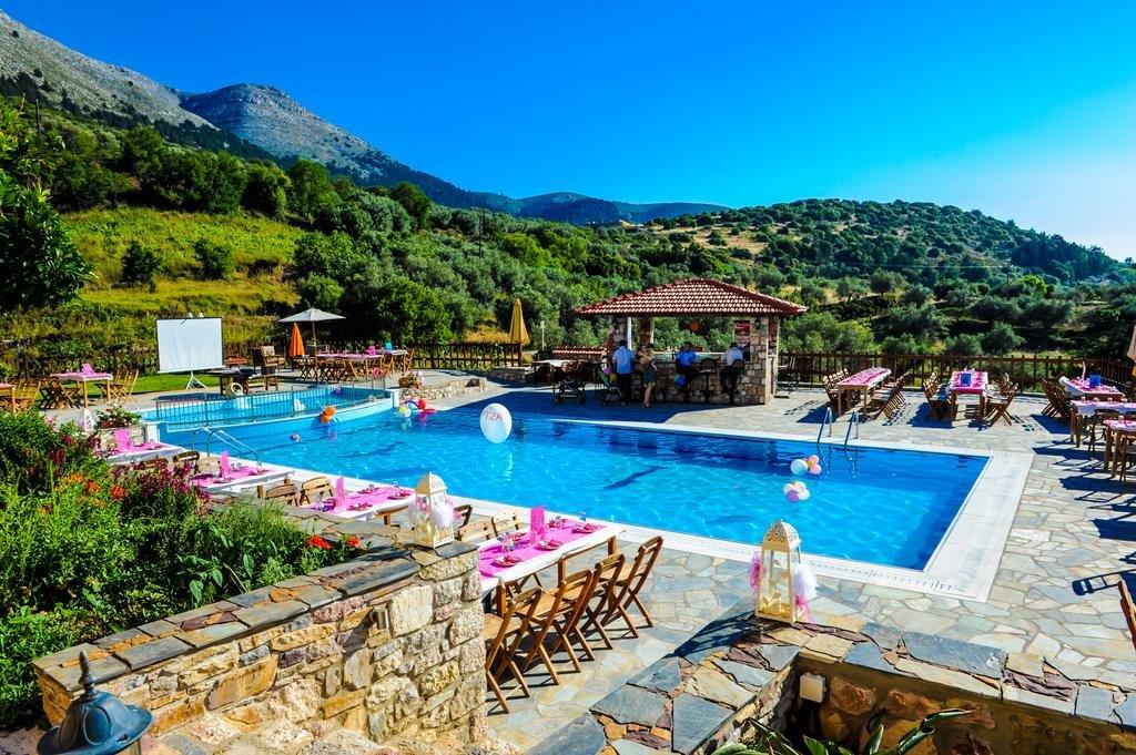 Hotel Ataviros - Embona - rhodos