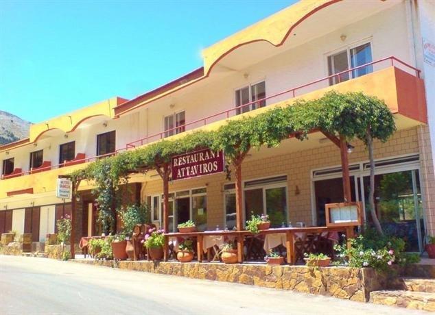 Hotel Ataviros - Embona - exterieur