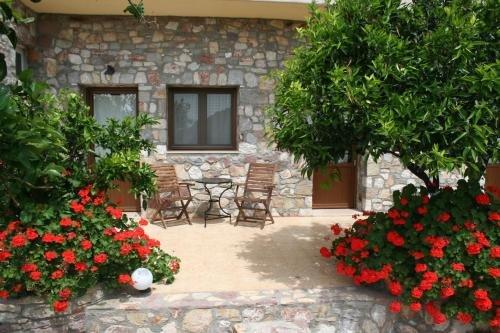 Hotel Ataviros - Embona - kamer - terrasje