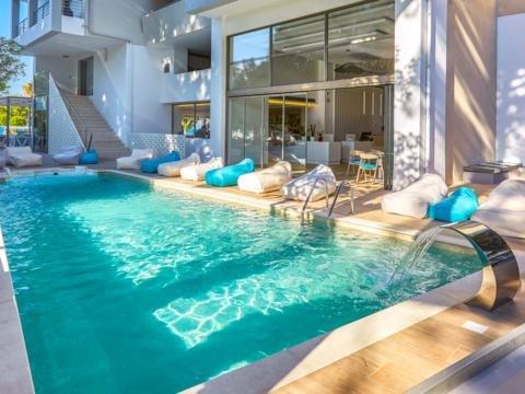 Hotel Triton Boutique - Kos-stad - zwembad