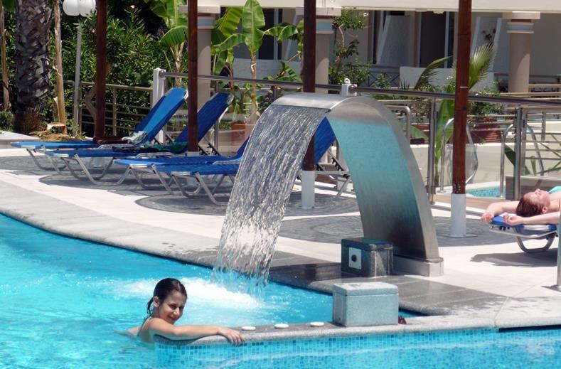 Hotel Astron - Kos-stad - zwembad