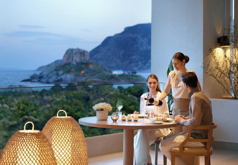 Hotel Ikos Aria - Kefalos - restaurant