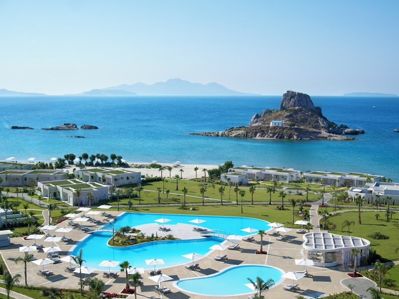 Hotel Ikos Aria - Kefalos - zwembad