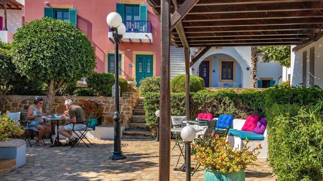 Appartementen Nefeli - Aghia Marina -terras