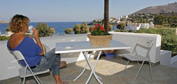 Appartementen Nefeli - Aghia Marina -kamer - balkon
