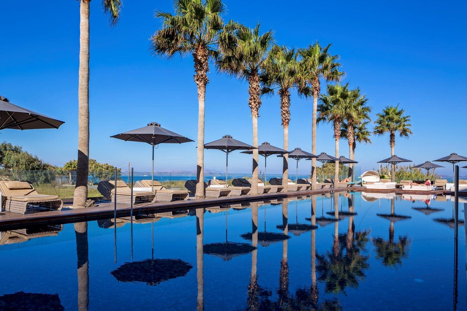 Hotel Aqua Blu Boutique & Spa - Kos-Lambi zwembad