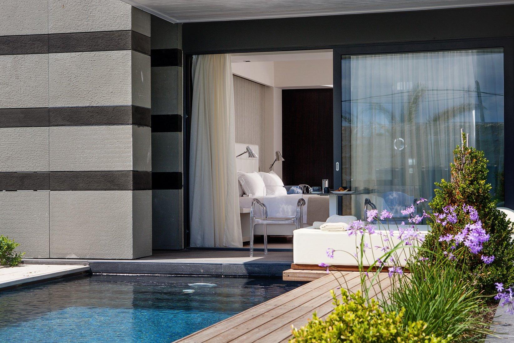 Hotel Aqua Blu Boutique & Spa - Kos-Lambi kamer - pool signature suite