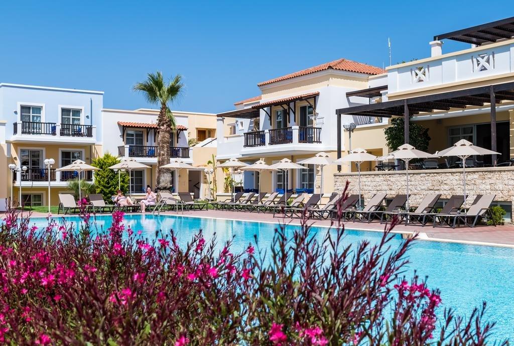 Appartementen Aegean Houses - Kos-Lambi - zwembad