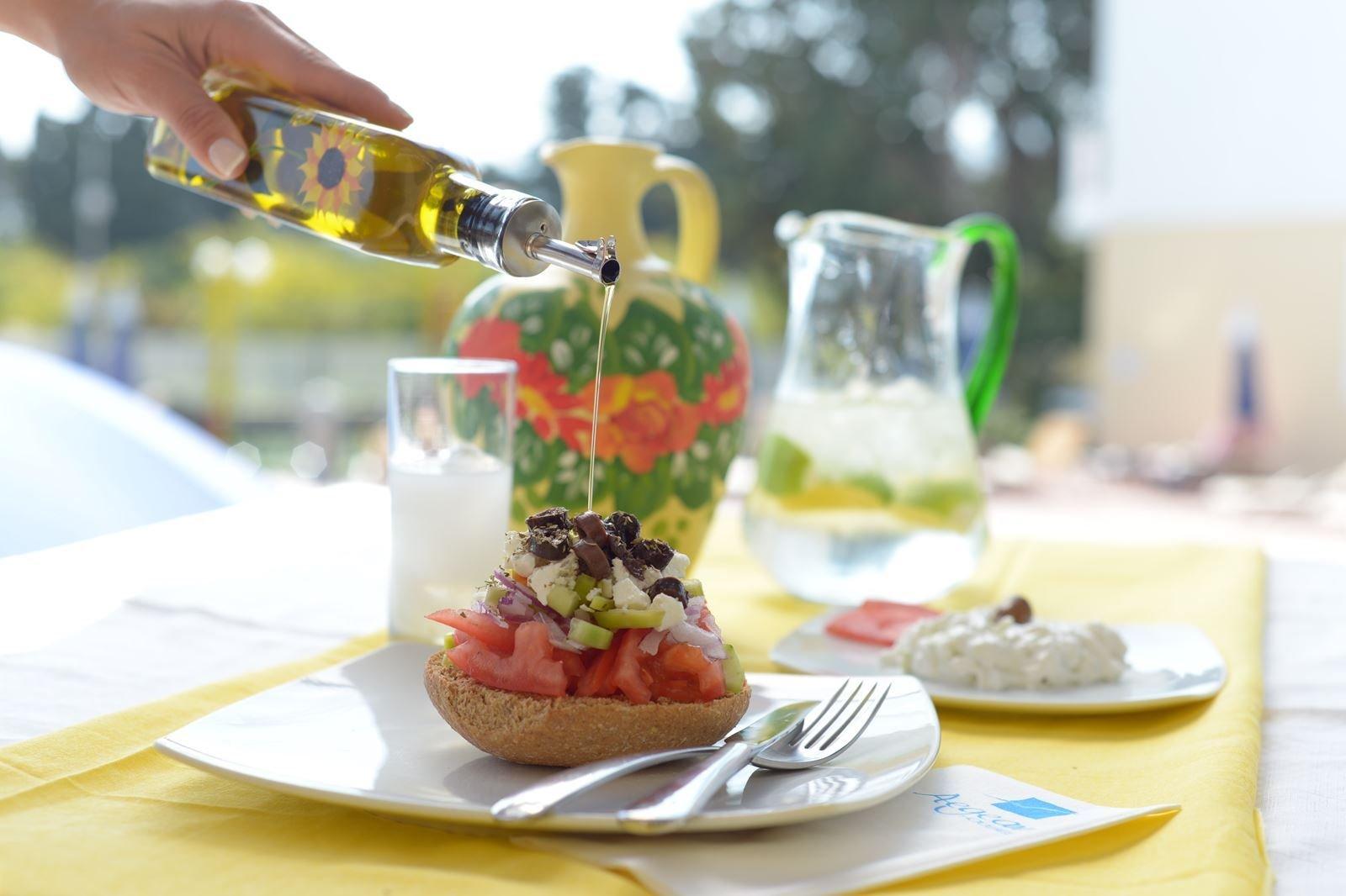 Appartementen Aegean Houses - Kos-Lambi - restaurant
