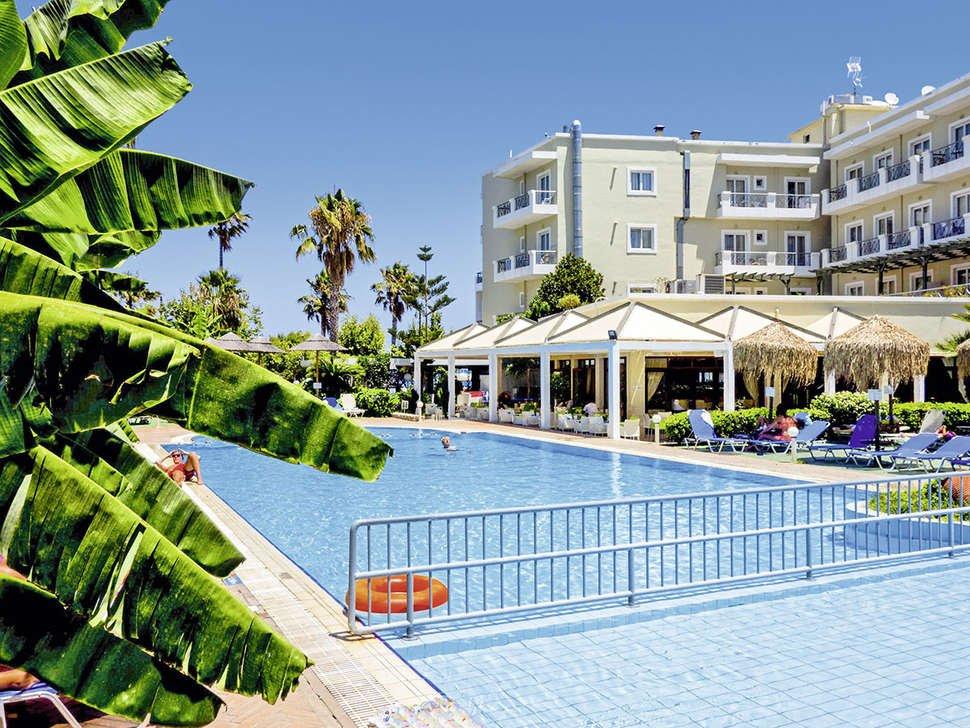 Kos Hotel Junior Suites - Kos-stad - zwembad