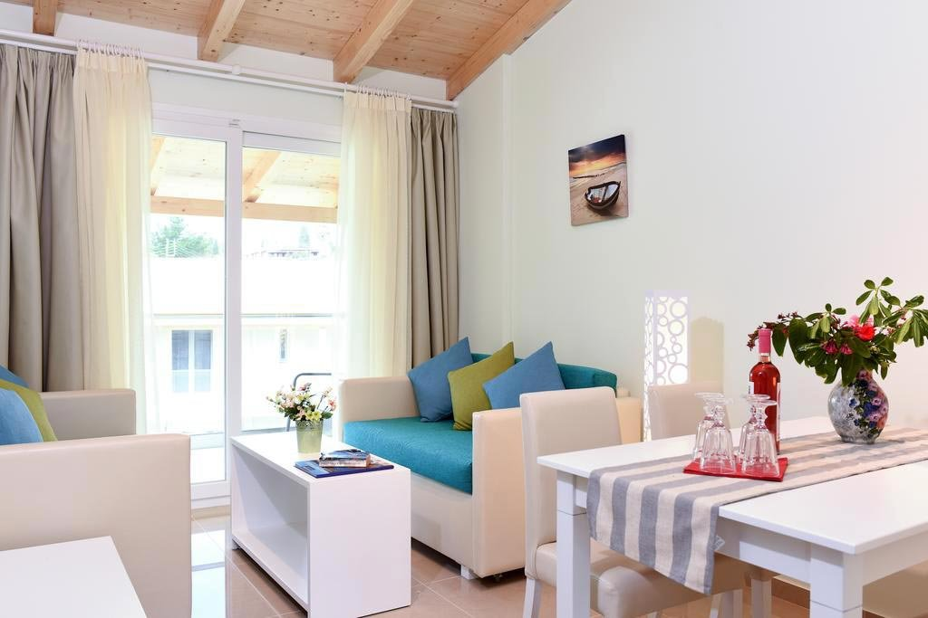 Appartementen Palapart - Gikas Suites & Studios - Gouvia - suite - kamer