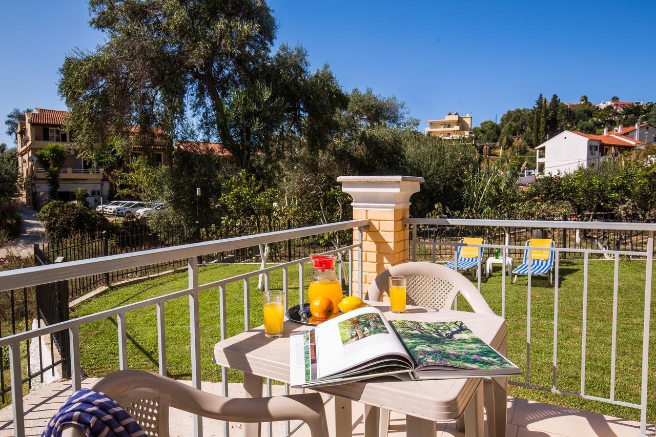 Appartementen Odysseus - Agios Gordis - kamer - balkon