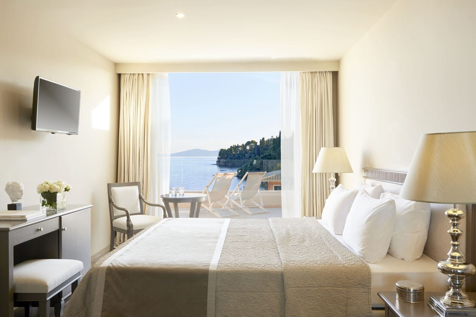 Hotel Mayor Repos Palace - Corfu-stad - executive art suite
