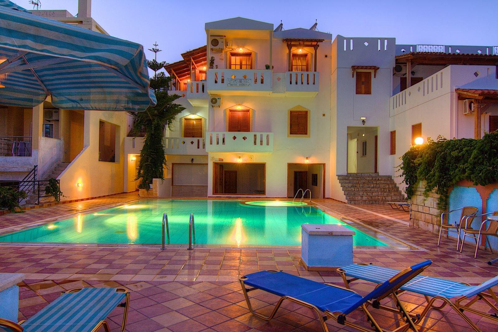Hotel en appartementen Adonis - Agia Galini