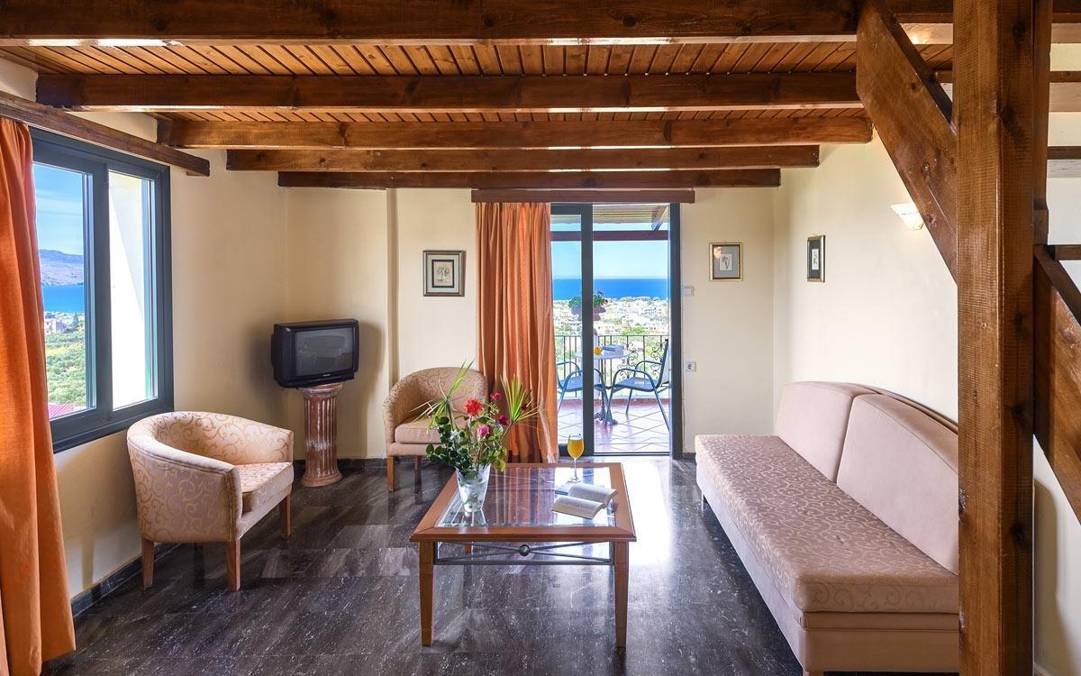 Appartementen Antilia - Tavronitis - Chania - kamer-woonkamer